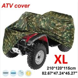 Xl Atv Cover Waterproof Dirt Uv Rain Dust Snow Resistant All Weather Protection