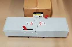 Nib General Electric Ads Ads32200hd 200 Amp 240v Fusible Panelboard Switch Dual