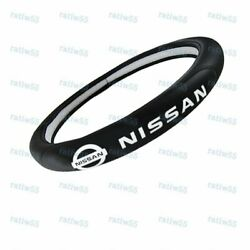 New Faux Leather For NISSAN New Black 15quot; Diameter Car Auto Steering Wheel Cover $28.30