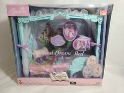 New Barbie Princess Fairy Tale Collection Musical Dream Bed Mattel B8479 2003.