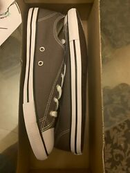 Converse Ctas Dainty Ox Chuck Taylor All Stars Charcoal Womenandrsquos Size 10 532353f