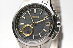 Citizen Attesa Eco-drive Gps F150 Limited Model Cc3010-51g Stay Gold