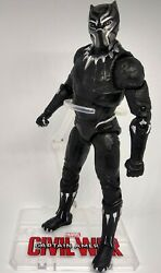 Black Panther Avengers 6quot; Action Figure Marvel with display stand *New in Box*