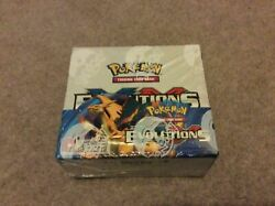 Pokemon Xy Evolutions Booster Box Sealed Cards 36 Booster Packs..