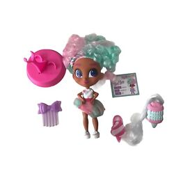 Hairdorables Series 2 Cotton Candy Dee Dee Fashion Doll New Out Of Box