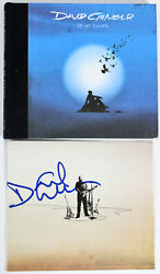 Pink Floyd David Gilmour Authentic Signed On An Island Cd Cover Page Jsa Z85157