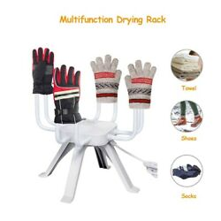 Shoe Dryer Electric Boot Warmer Silent Heater Glove Convection Portable 4 Hooks