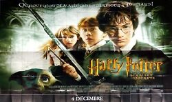 Harry Potter And The Chamber Of Secrets Giant French Poster 10x13 Feet 8 Panels