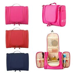 Travel Cosmetic Makeup Bag Travel Cosmetic Large Essentials Organizer Case Pouch $16.91