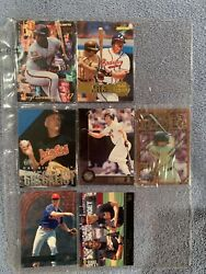 Baseball Card Lot Of 9 From Various Series 1993-1996 Listed In Desc.