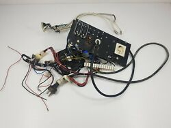 Emco Compact 5 Cnc Lathe Output Input Back Panel With Cables+fan From Working