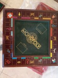 Complete | Franklin Mint Monopoly Board Game Collectors Edition 1991