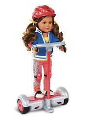 New My Life As Radio Control Personal Transporter For 18 Dolls Coral 7 Pieces