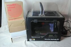 Makerbot Replicator 2x 3d Printer Used Comes W/ 5 Boxes Of Filament