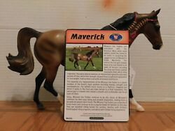 Breyer Model Horse quot;Maverickquot; 1:9 Traditional Scale Collectible