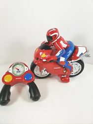 Ducati Chicco Racing Motorcycle Remote Control Made In Italy Tested Works