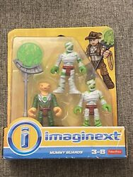 Fisher Price Imagine The Mummy Guards 2018 New In Pack Unopened