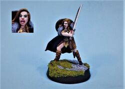 Mierce Minis Painted Miniature Cute Sexy Fighting Queen Joanna
