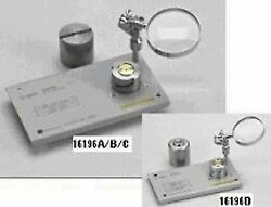 Hp-agilent 16196a Parallel Electrode Smd Test Fixture Dc To 3ghz