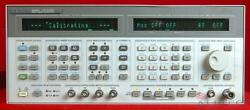 Hp - Agilent 8645a-001 3438a00481 Signal Generator 252 Khz To 1030 Mhz
