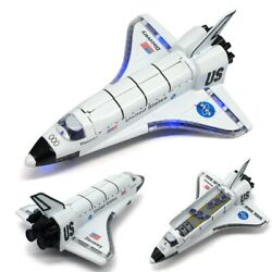 Alloy Space Shuttle Die Cast Space Craft Space Plane Spaceship Model Kids Toys