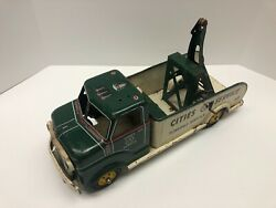 Marx Vintage 1950's Cities Service Towing Service 17, Pressed Steel