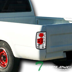 Topline For 1989-1995 Toyota Pickup Truck Chrome Housing Altezza Tail Lights