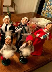 Byers Choice Christmas Carolers -andnbsp Family 5