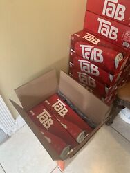 Four Tab Soda 12-packs Coco Cola Brand New Unopened Discontinued 48 Cans