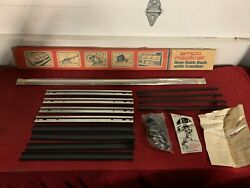 Nos Amco Magik-rak Rear Trunk Rack 80and039s Stainless 20 Ford / Dodge / Chevy