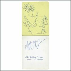 The Rolling Stones Gene Vincent And Others 1960s Autographs Uk