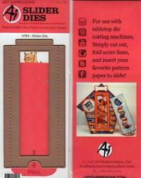 New Art Impressions Pull Slider Die For Cards Matches Stacker Stamps In Store
