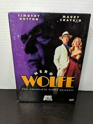 Nero Wolfe - The Complete First Season 1 Dvd 2004 3-disc Set Timothy Hutton Rare