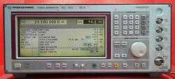 Rohde And Schwarz Smt03 Signal Generator, 5khz To 3ghz De15549w/options B4 And B8