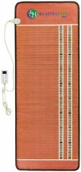 Healthyline Pemf Far Infrared Bio Crystal Therapy Mat Heating Pad 74 In X 28 In