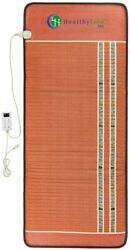 Far Infrared Bio Crystal Therapy Mat Healthyline Heating Pad Pemf 76 In X 32 In