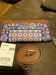 Brand New Brighton Floral Wallet Crossbody For Only $95 $85.00