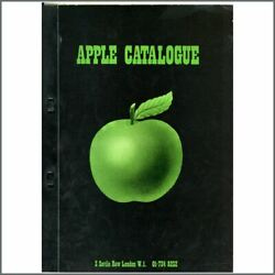 The Beatles 1971 Apple Records Catalogue Uk