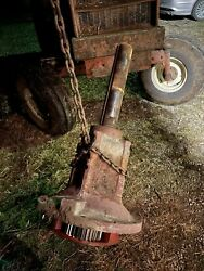 Allis Chalmers 7000 Series Right Rear Axle Tag 034