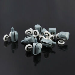 8pcs 25mm Twin And Bottom Top Sliding Shower Doors Rollers Pulleys Wheels Runner