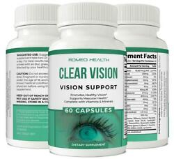 Clear Vision Eye Supplement Advanced Vision Vitamins With Lutein And Vitamin A