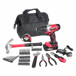 Hyper Tough 20-volt Max Lithium-ion Cordless Drill And 70-piece Project Kit