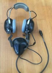 Vintage Astrocom 21546 Military Aviation Headset With Microphone