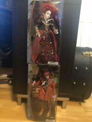 2 Collectable Alice Through The Looking Glass Film Collection Dolls