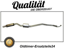 Stainless Steel Exhaust System For Mercedes W108 250se/280se