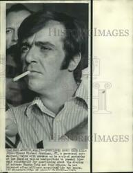 1969 Press Photo Thomas Harrigan Questioned At Los Angeles Police Headquarters