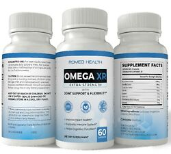 Romeo Health Omega Xr Extra Strength Joint Support Potent Joint Pain Relief 60ct