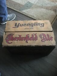 Super Rare Yuengling Lord Chesterfield Ale Beer Cardboard 24 Bottle Case Box