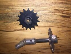 Piper Pa28 Piper Control Column Yoke Sprocket And Shaft Gear Joint
