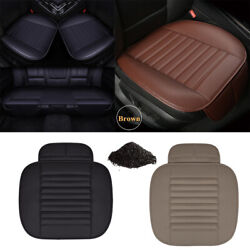 Car Front Seat Cover Half/full Surround Chair Cushion Mat With Bamboo Charcoal